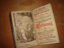 C. Velleii Paterculi Historiae Romanae ... / Erklärung des V. Paterculi ... 1731