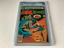 BRAVE AND THE BOLD 134 CGC 9.8 BATMAN GREEN LANTERN DC COMICS 1977