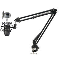 Compact Mic Stand Suspension Boom Scissor Arm Stand Condenser Microphone