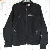 TNF mens M Medium the Summit Series Black Jacket North Face 4 Zip Pockets