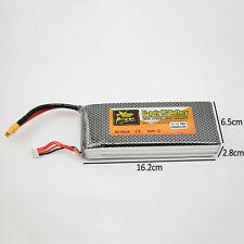 11.1V 10000mAh 3S 25C Conector XT60 Batería Lipo Recargable Para Helicóptero