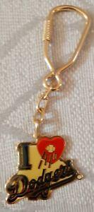 I Love Los Angeles Dodgers Keychain Key Chain
