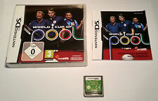 World Cup of Pool Nintendo DS Aus Seller Free Post