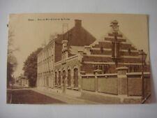 DOUR ( région de Mons ) - Rue du Roi Albert et la Poste