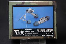 ZA611 VERLINDEN PRODUCTIONS M47 DRAGON ANTI-TANK MISSILE LAUNCHER 120mm 710 1/16