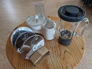 Zubehör Küchenmaschine - Kenwood - Mixaufsatz und Schnitzelwerk