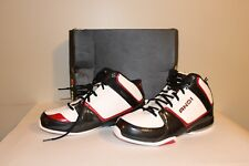 And1 Men's Athletic Basketball High Tops Shoe Size 8.5 Red White Black