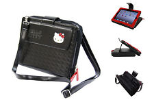 HELLO KITTY MINI MESSENGER BAG Black iPad 1, 3 gen and iPad 2 (KT4348)