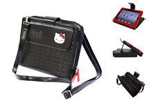 HELLO KITTY MINI MESSENGER BAG Black iPad 1, 3 gen and iPad 2 (KT4348)