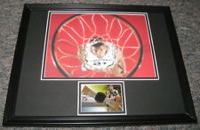Tim Duncan Framed 11x14 Game Used Jersey & Photo Display Spurs TOPPS
