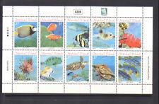 Marshall Islands 2004 REEF/TURTLE/SHELL/FISH sht n13170