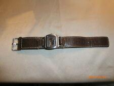 Buffalo David Bitton Leather & Steel Rustic Ladies Watch