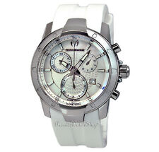 NEW Techno-Marine UF6 Large Chrono Sport White 610003 Men's Chronograph Watch