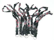 (25 Pack) Lanyard Neck Strap, Keychain, Paintball black