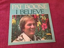 Pat Boone I Believe Word Records LP Gospel previously released on Dot Records