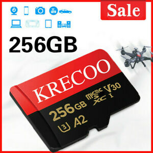 Micro Karte 64GB 128GB 256GB mit Adapter 100MB/s Class 10 Speicherkarte Memory