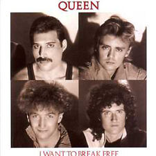 ★☆★ CD Single QUEEN I want to break free + Germany + 2-track CARD SLEEVE - ★☆★