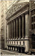 RPPC RP NYC STOCK EXCHANGE WALL ST. THADDEUS WILKERSON 1911
