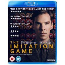 The Imitation Game Blu-ray 2014 Benedict Cumberbatch Keira Knightley