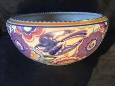 Poole Pottery Bluebird Bowl Art Deco