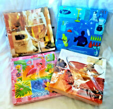 4 pkgs Luncheon-Size Paper Napkins DRINKS COCKTAILS WINE FLAMINGOS Germany & USA