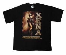 "Vintage Xena The Warrior Princess ""Xena"" T-Shirt Y2K Girl Power Promo Buffy TV"