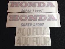 HONDA CB400 FOUR F1 USA MODEL TANK DECALS