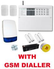 Texecom Veritas 8 LED Wired Burglar Alarm Kit, 2 Dualtech PIRs + GSM SMS Dialler