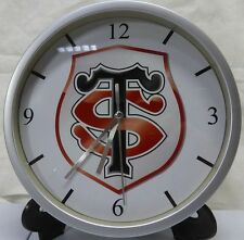 Pendule murale horloge 20cms RUGBY TOP 14 STADE TOULOUSAIN TOULOUSE H CUP