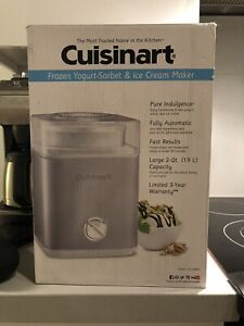 Cuisinart ICE-30BC Pure Indulgence 2-Qt Auto Froz Yogurt Sobet & Ice Cream Maker