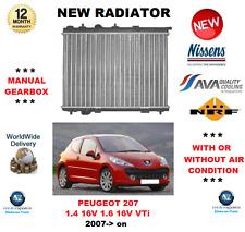 Para Peugeot 207 Wa Wc 1.4 16V 1.6 16VVti 2007>en Radiador Calidad OE