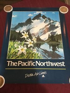 The Pacific Northwest Delta Airlines Poster