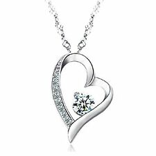 Heart shaped necklace for women and a beautiful gift girl Heart Pendant NEW!