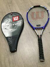 Wilson Tennis Racket Titanium Vector Soft Shock 4 3/8 L3 with Cover