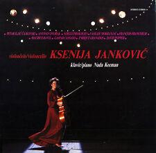 JANKOVIC Cello Recital MOKRANJAC FRANCOEUR RAVEL GRANADOS=CASSADO POPPER $4 SHIP