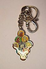 Nice Colorful BSA Boy Scouts Leader Wood Badge Key Chain Clip Highest Level Rare