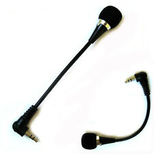 3.5mm Stereo Plug Jack Flexible Mikrofon Mic For PC Laptop Notebook Skype Yahoo