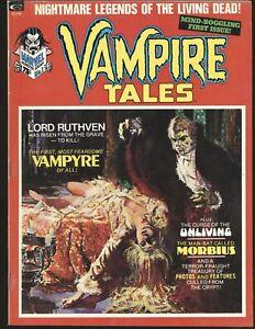 Vampire Tales # 1 - 1st solo Morbius series Fine/VF Cond.