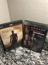 Gladiator (Crowe) & Glengarry GlenRoss (Pacino) Double Movie Dvd - Free Shipping