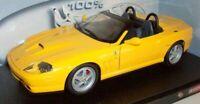 Hot Wheels 1/18 Scale - 29756 Ferrari 550 Barchetta Pininfarina - Yellow