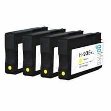 4 Jaune Cartouches d'encre pour HP Officejet Pro 6230 & 6830 e-All-in-One