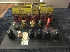 "Lot of 11 Kidrobot Godzilla King Of Monsters Vinyl 3"" Mini Figures Collection"