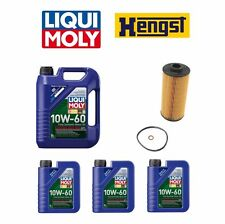 BMW E39 M5 2000 to 2003 8-Liters Oil & HENGST Oil Filter Oil Change Kit
