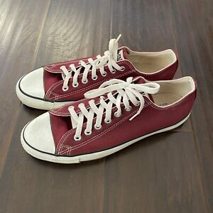 Converse All Stars Men's made in USA Fabric Upper Sneakers Size 10
