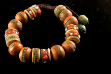 Bracelet Tibetan Buddhist 12mm Bodhi Seed Knotted