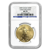 2009 1 oz Gold American Eagle MS-70 NGC (Early Releases) - SKU #59194