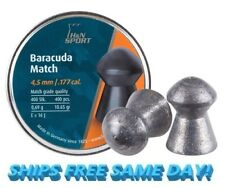 H&N Baracuda match, .177 Cal, 10.65 Grains, Round Nose, 400ct PY-P-1447 NEW