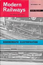 MODERN RAILWAYS Nov 1964 Bournemouth Electrification * BR Two-Tier Car Carrier