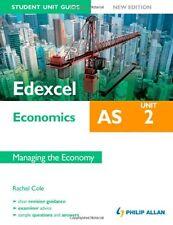 Edexcel AS Economics Student Unit Guide, unit 2: Managing the Economy,Rachel Co