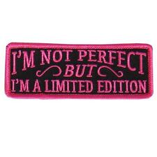 Limited Edition not perfect embroidered IRON ON 4 inch MC BIKER PATCH